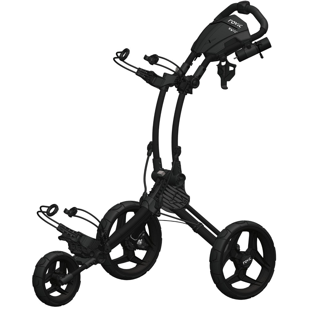 Clicgear Rovic RV1C Golf Push Cart - Black