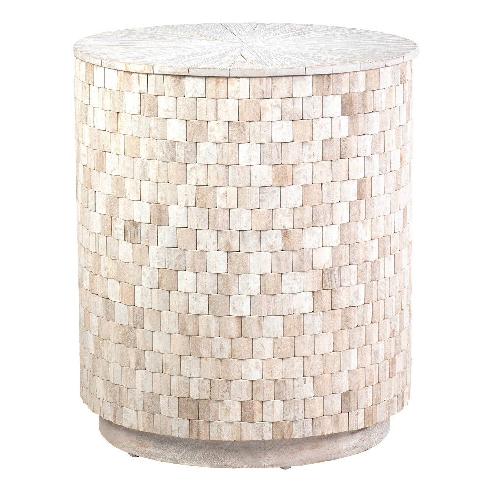 Fenton Accent Table White East At Main