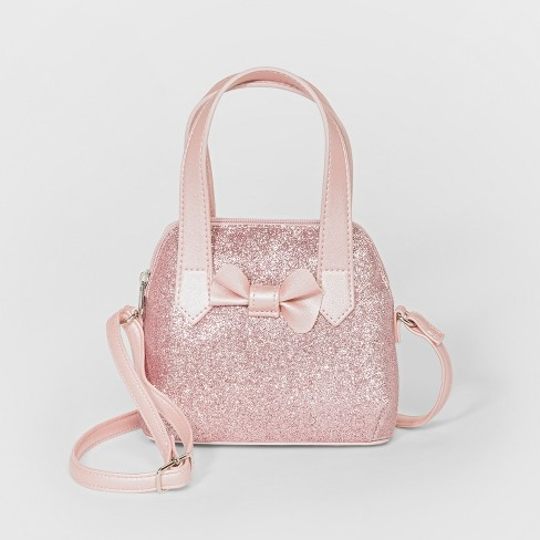 Girls' Crossbody Bag - Cat & Jack™ Pink - image 1 of 1