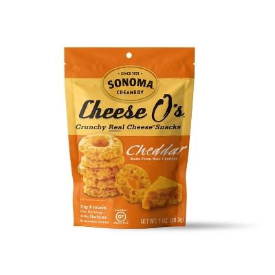 Mr. Cheese O's Cheddar Crunchy Real Cheese Snacks - 1oz