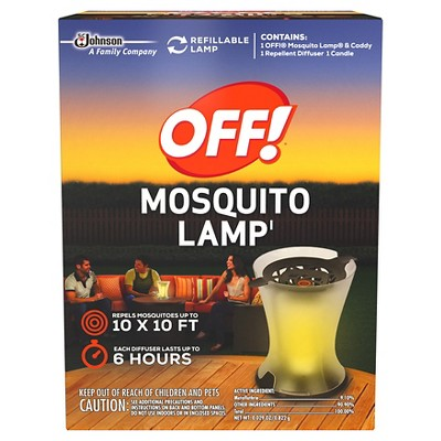 OFF! Mosquito Lamp Starter Kit 0.029oz