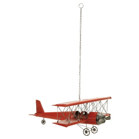 "Vintage Biplane Replica (31"") - Olivia & May - image 1 of 2"