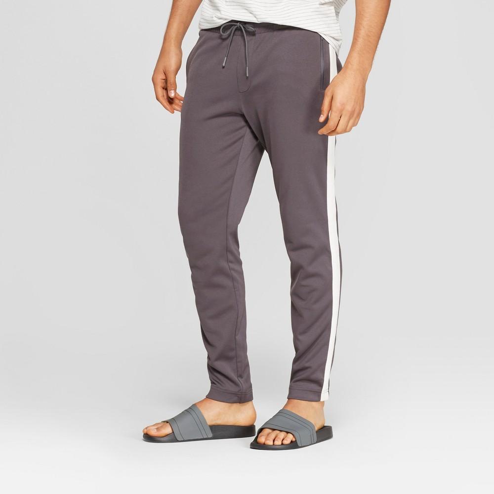 Men's Regular Fit Jogger Pants - Goodfellow & Co Railroad Gray XL