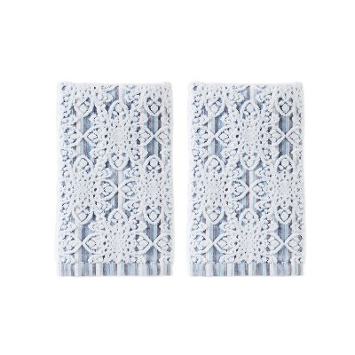 2pc Kali Hand Towel Bath Towels Sets Smoke - Saturday Knight Ltd.