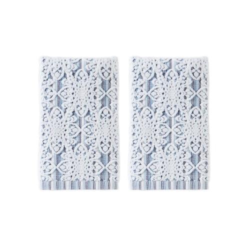 2pc Kali Hand Towel Bath Towels Sets Smoke - Saturday Knight Ltd. - image 1 of 3