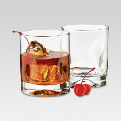 12oz 4pk Glass Telford Short Tumblers - Threshold™