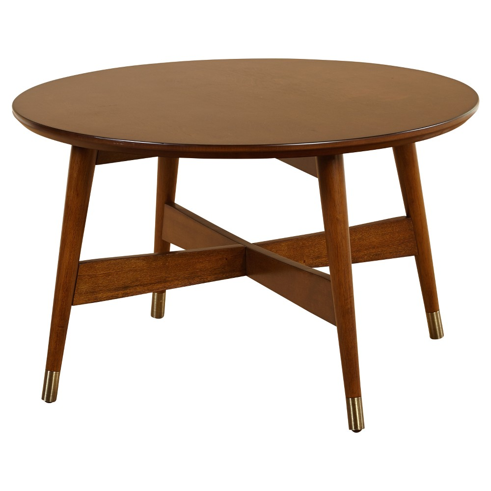 Image of Allen Coffee Table - Walnut - Angelo:Home, Brown