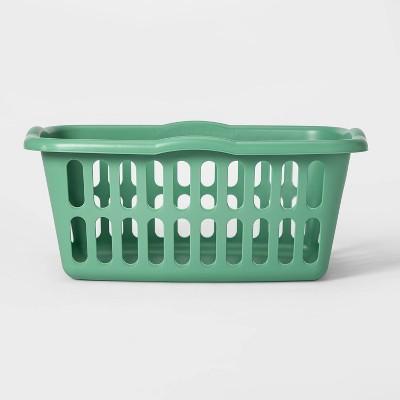 1.5bu Laundry Basket Green - Room Essentials™
