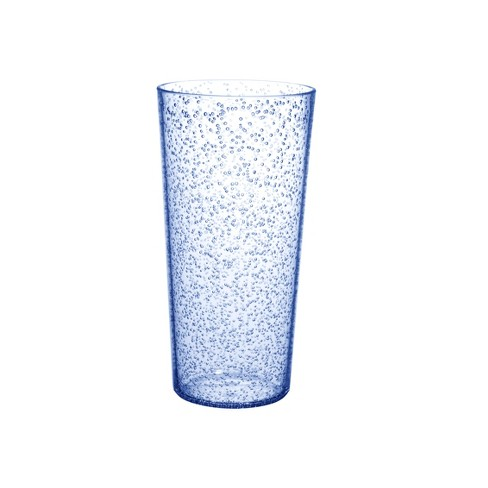 Plastic Tall Bubble Tumbler 22oz Whimsical Blue - Room Essentials™ - image 1 of 1