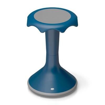 "VS America Hokki Stool Flexible Ergonomic Seating - 20"" Blue"