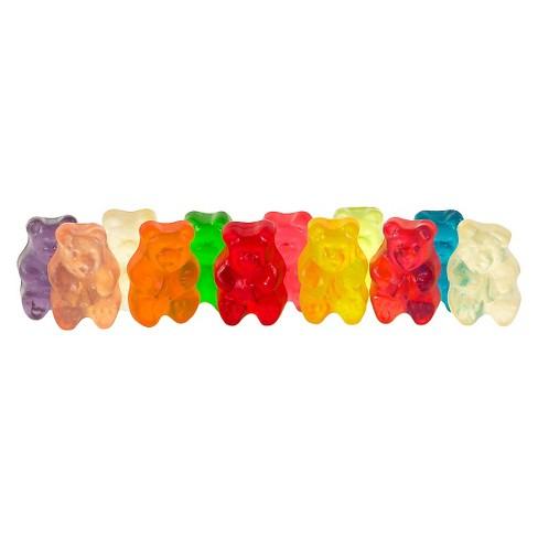 Albanese Assorted Flavors Gummi Bears - 5lbs