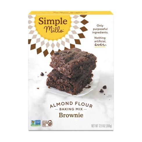 Simple Mills Gluten Free Brownie Almond Flour Baking Mix - 12.9oz - image 1 of 4