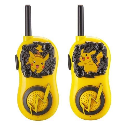 Pokemon Pikachu Walkie Talkies-Long Range 2-way Radios - image 1 of 4