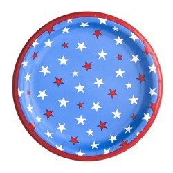 "30ct 6.75"" Star Snack Plate - Spritz™"