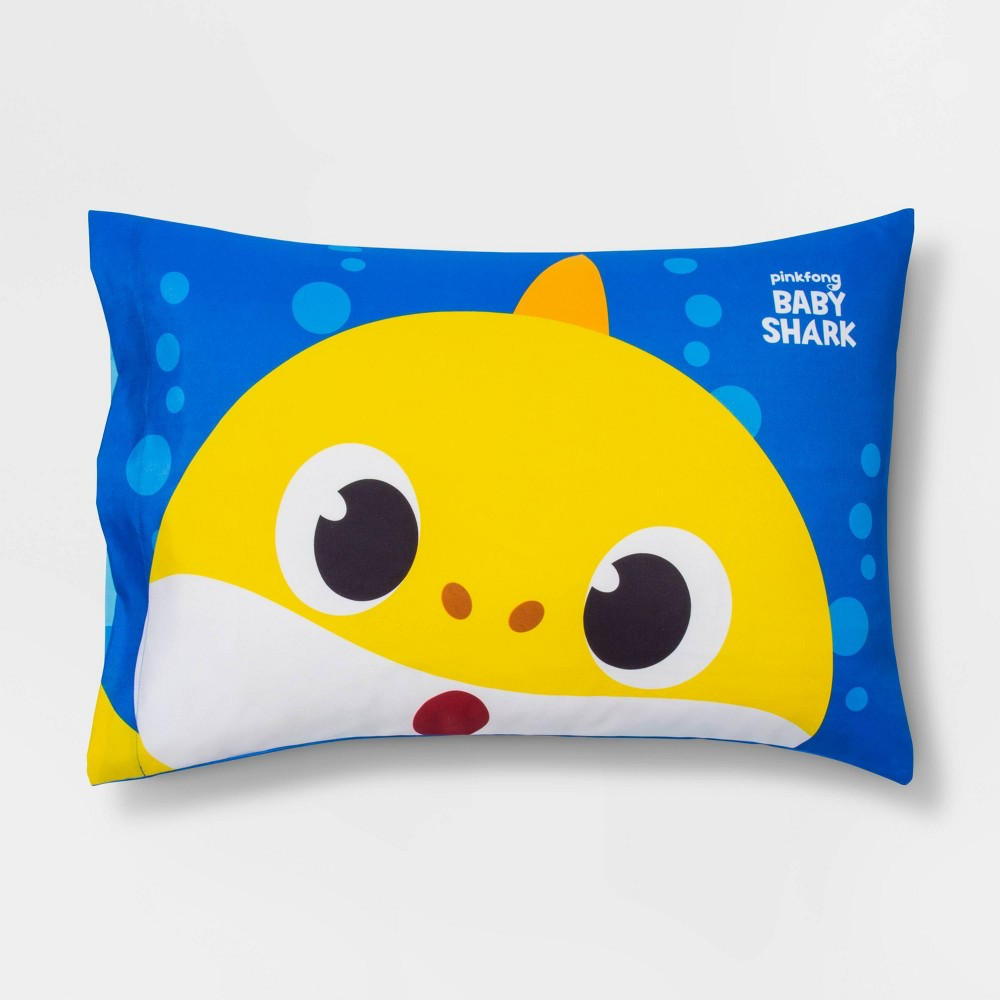 Image of Pinkfong Baby Shark Close Up Pillowcase