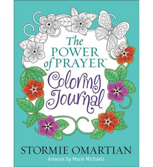 Power of Prayer Coloring Journal (Paperback) (Stormie Omartian) - image 1 of 1