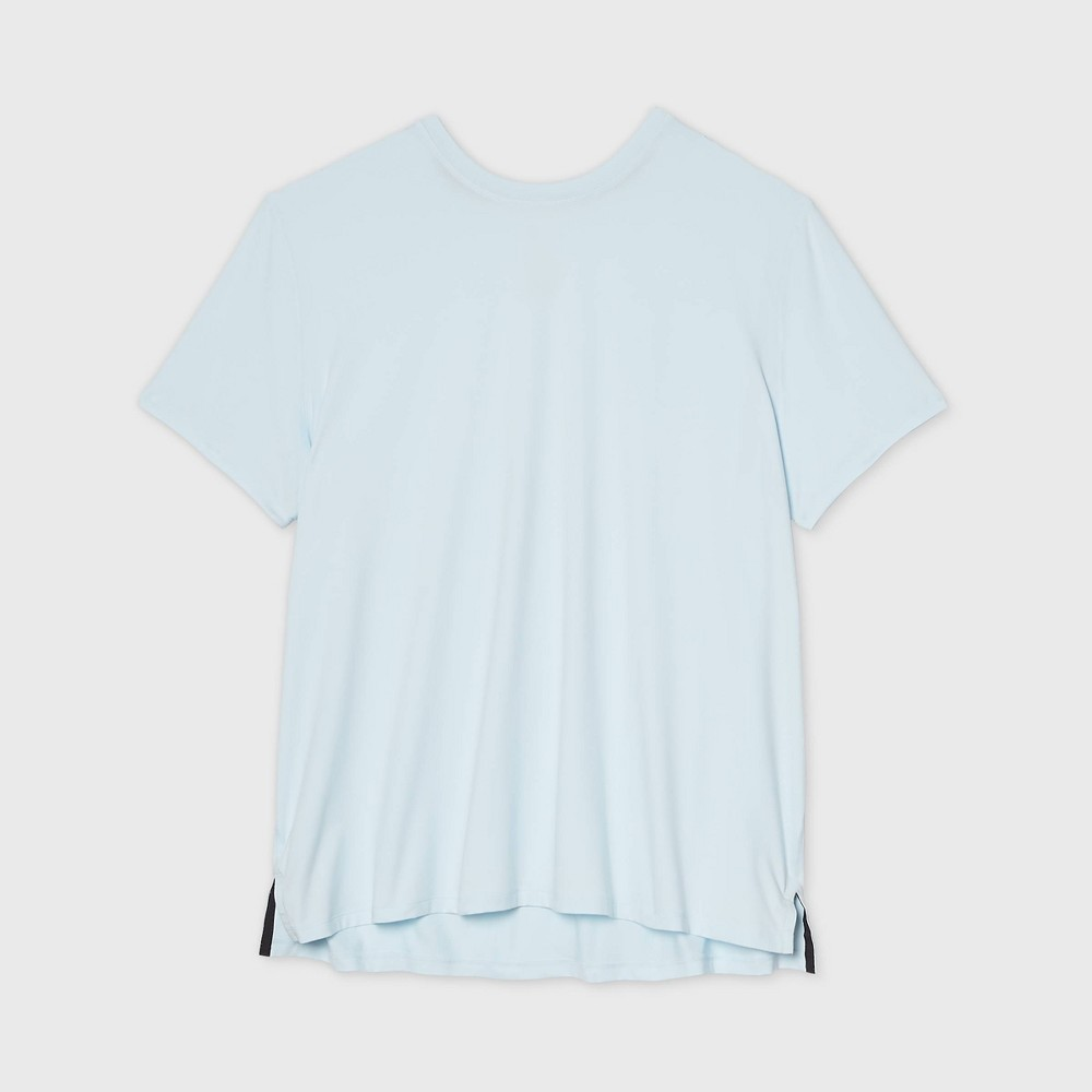 Mens Short Sleeve Performance T-Shirt - All in Motion Ice Blue XXL