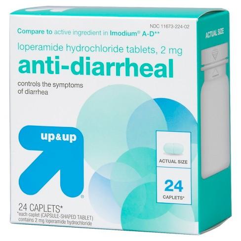 Loperamide Anti Diarrheal Caplets Upup Compare To Active