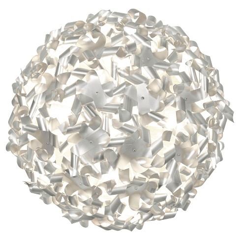 Pinwheel 8 Light Ceiling/Wall Fixture - Aluminum - image 1 of 4