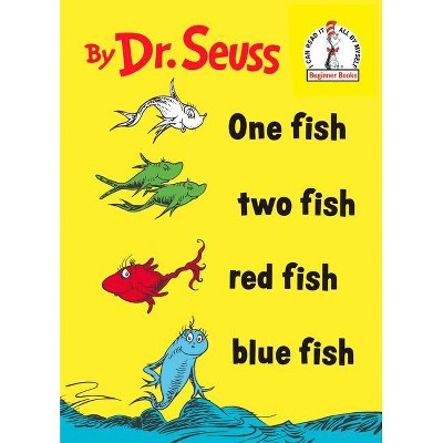 One Fish Two Fish Red Fish Blue Fish - Dr. Seuss - by DR SEUSS (Board Book)