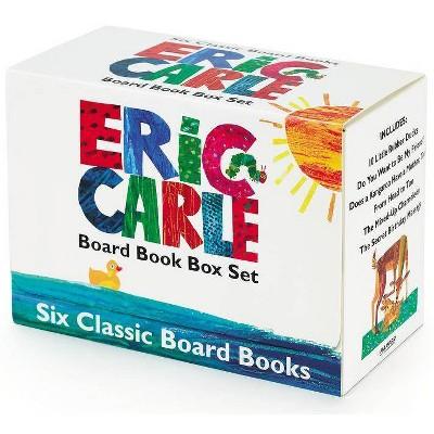 Eric Carle Six Classic Board Books Box Set - (Paperback)