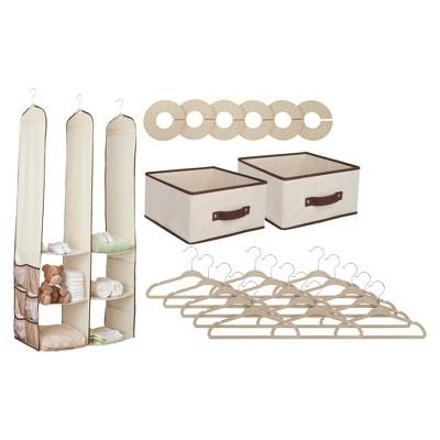 Superbe Delta Children® Nursery Closet Organizer   24 Pc : Target