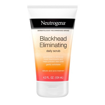Facial Cleanser: Neutrogena Blackhead Eliminating Daily Scrub