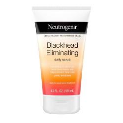 Neutrogena Exfoliating Blackhead Salicylic Acid Face Scrub - 4.2oz