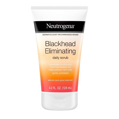 Neutrogena Exfoliating Blackhead Salicylic Acid Face Scrub 4 2oz