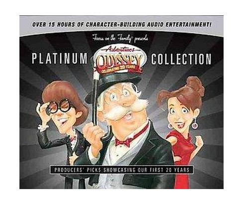 Adventures n Odyssey Platinum Collection (CD/Spoken Word) - image 1 of 1