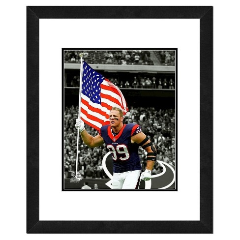 NFL Photo File 18x22 inch Team Logo Framed Wall Art - Double Matted ...