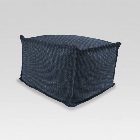 Outdoor Pouf Ottoman - Jordan Manufacturing - image 1 of 3