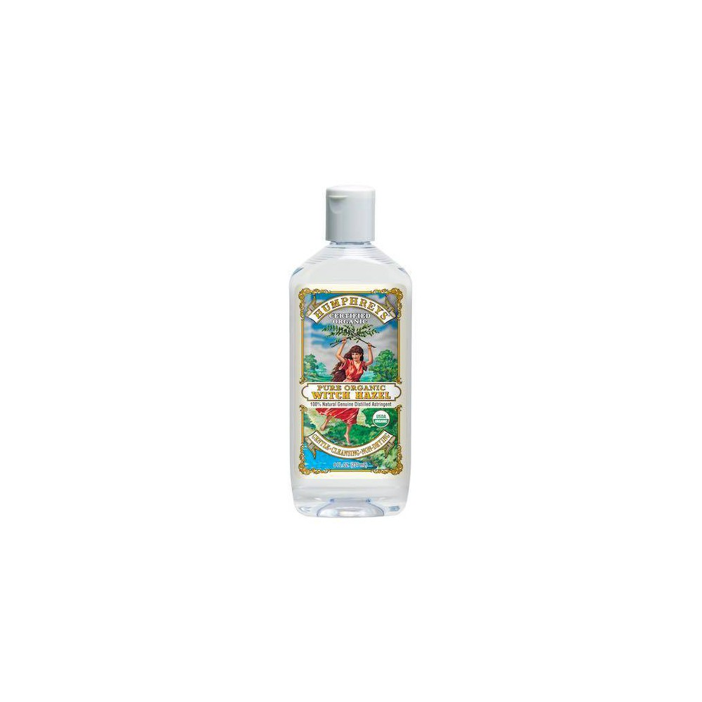 Image of Humphreys Certified Organic Witch Hazel Astringent - 8oz