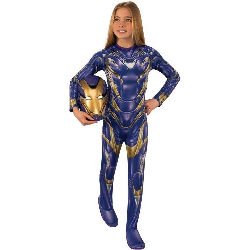 Girls' Marvel Avengers Armored Halloween Costume - image 1 of 1
