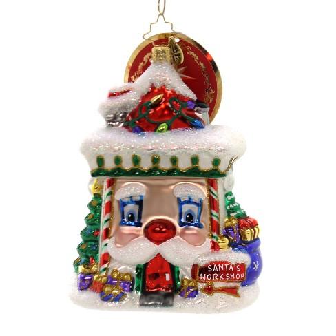 "Christopher Radko 5.0"" Facing Work Head-On Santa's Work Shop - image 1 of 2"