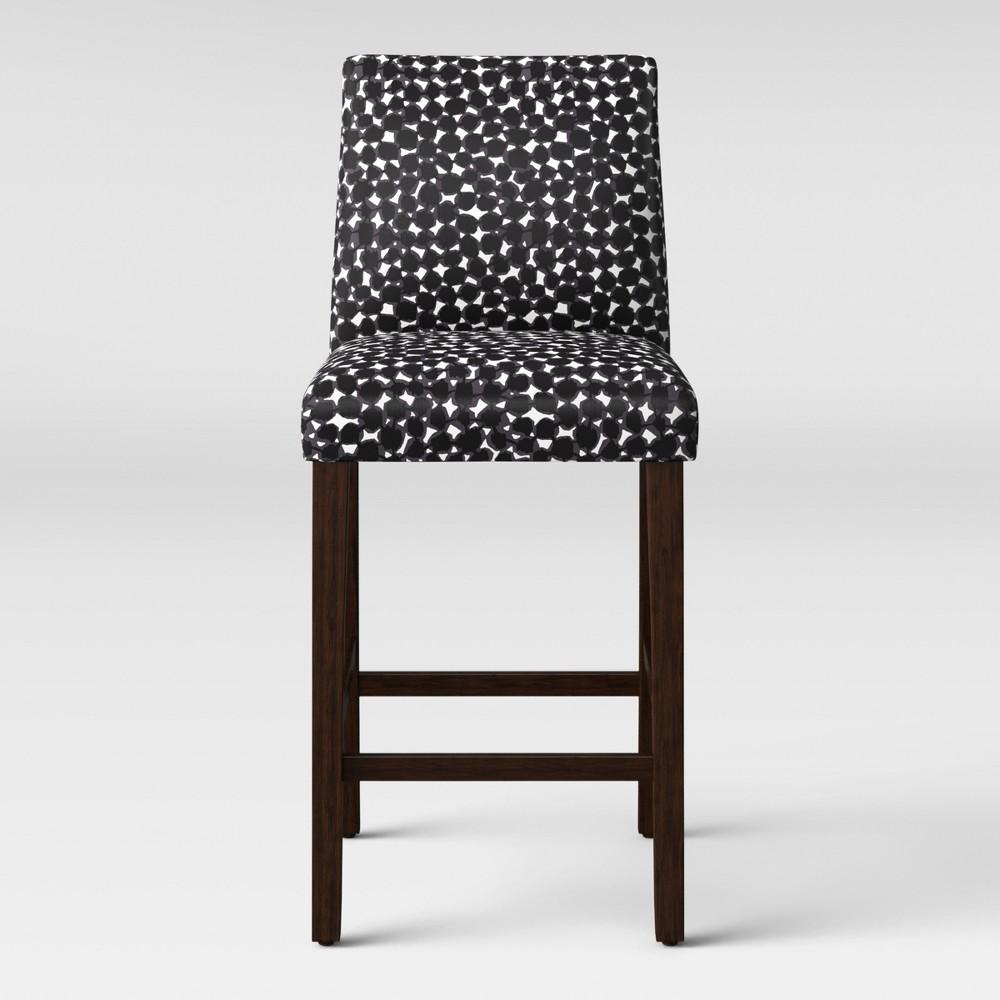 30 Barstool Abstract Black/White Dot - Project 62, Black & White Dot