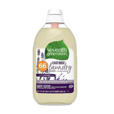 Seventh Generation EasyDose Ultra Concentrated Laundry Detergent - Lavender-23.1 fl oz/66 Loads