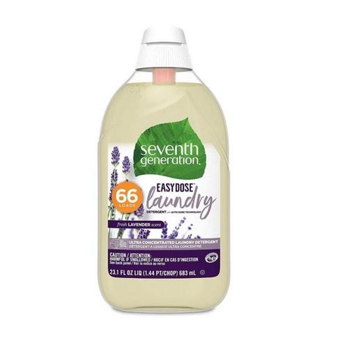 Seventh Generation EasyDose Ultra Concentrated 66-Loads Laundry Detergent Lavender-23.1 fl oz - image 1 of 4