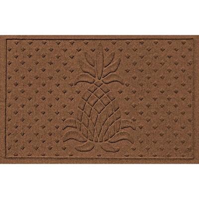 2'x3' Aqua Shield Diamond Pineapple Indoor/Outdoor Doormat - Bungalow Flooring