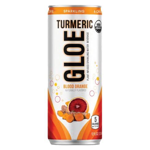 Gloe Turmeric Blood Orange Sparkling Water - 12 fl oz Can - image 1 of 1