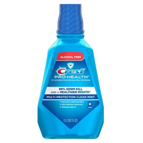 crest pro health clean mint multi protection cpc antigingivitis