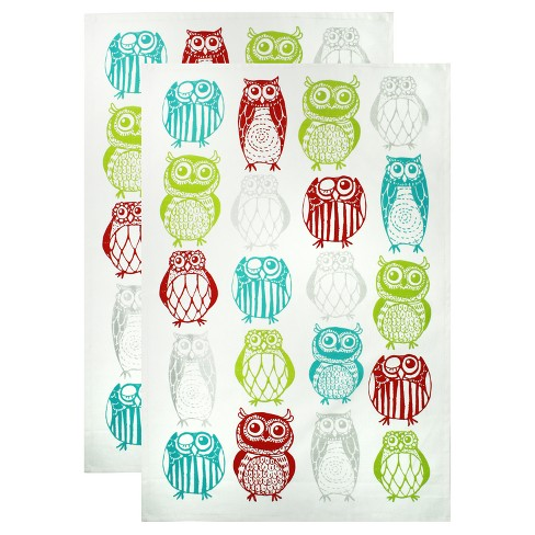 Printed Cotton Towel Set of 2 - image 1 of 1