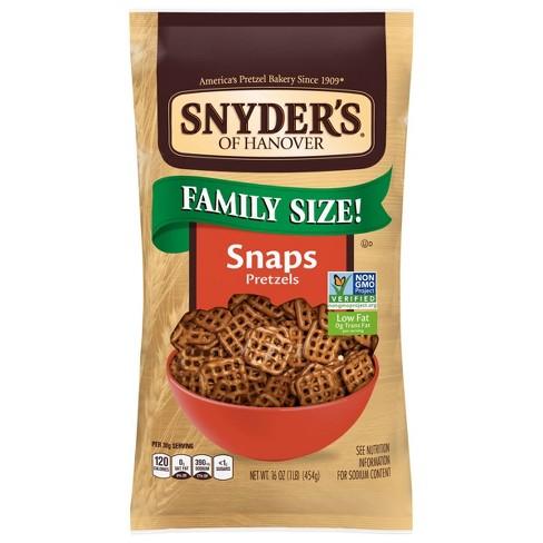 Snyder's Of Hanover Pretzel Snaps - 16oz - image 1 of 4