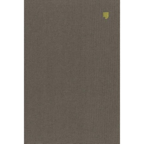 Net Bible, Thinline Reference, Large Print, Cloth Over Board, Gray, Comfort Print - by  Thomas Nelson - image 1 of 1