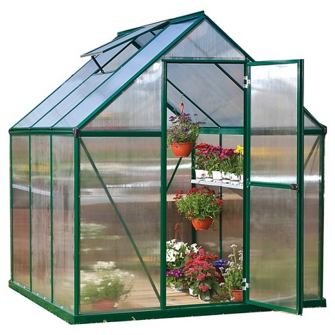6' x 6' x7' Nature Greenhouse - Forest - Palram