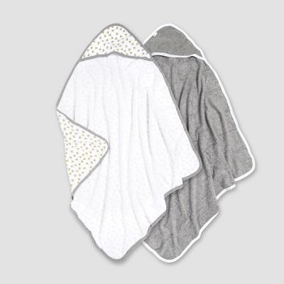 Burt's Bees Baby Baby's Hooded Bath Towel - White