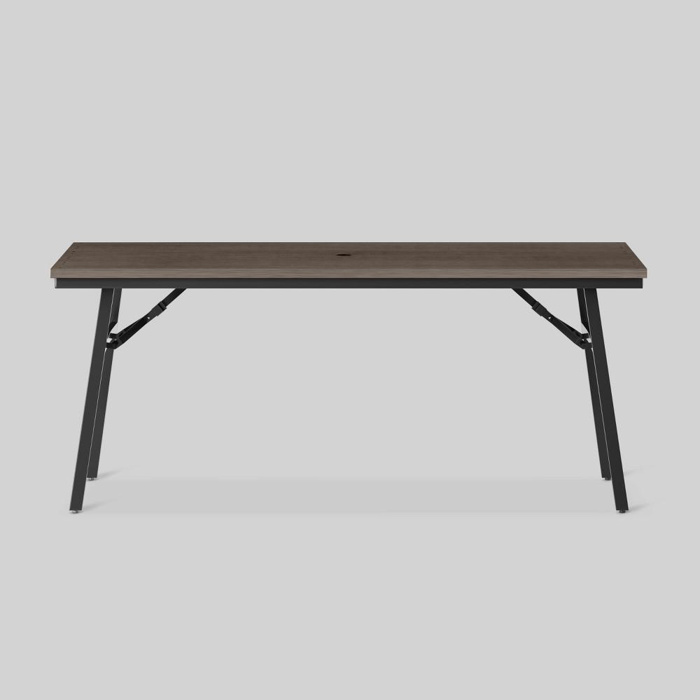 Mantega Faux Wood Folding Patio Dining Table - Project 62