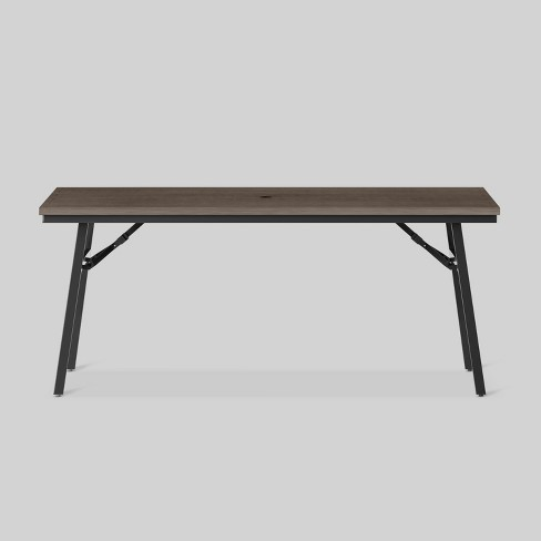 Mantega Faux Wood Folding Patio Dining Table Project 62 Target