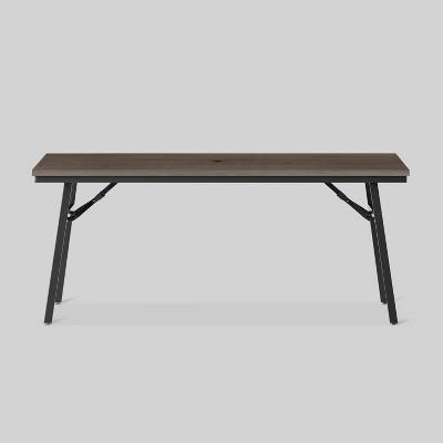 Etonnant Mantega Faux Wood Folding Patio Dining Table   Project 62™