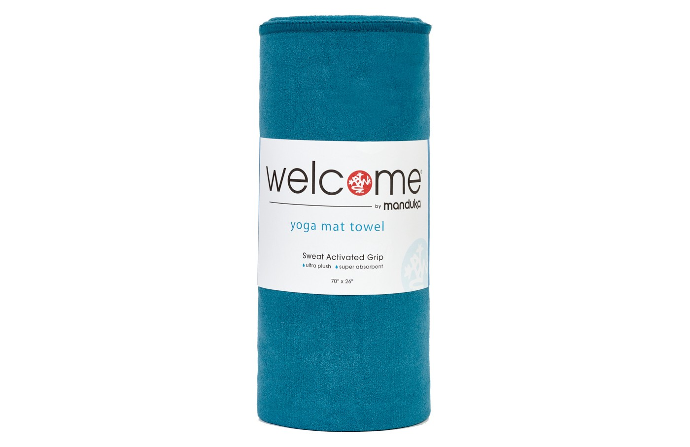 Manduka Welcome Yoga Mat Towel - Maldive - image 1 of 5
